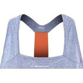 La Sportiva Dakota Mouwloos Shirt Dames blauw